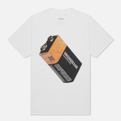 Мужская футболка Bronze 56K Battery White
