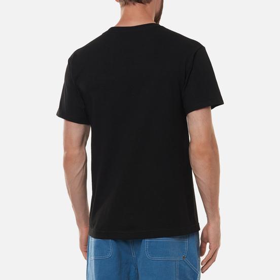 Мужская футболка Bronze 56K Chainsaw Black