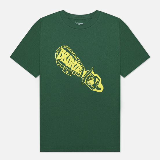 Мужская футболка Bronze 56K Chainsaw Forest Green