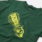 Мужская футболка Bronze 56K Chainsaw Forest Green фото - 1