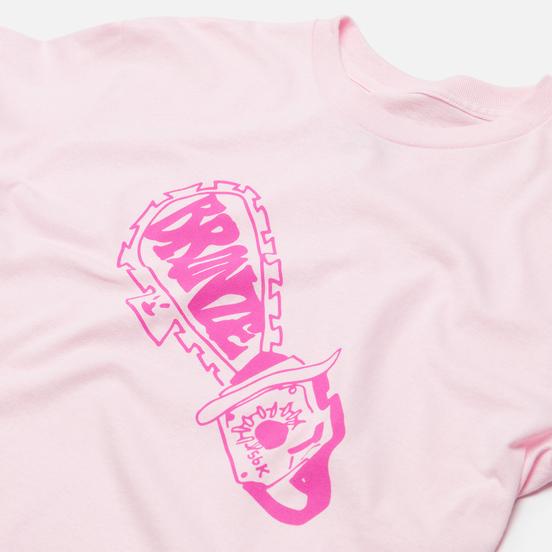 Мужская футболка Bronze 56K Chainsaw Pink