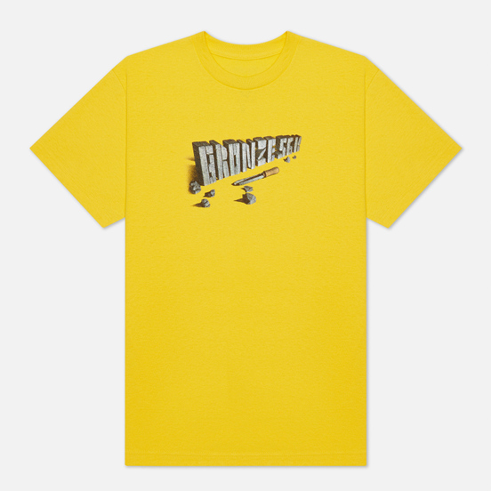 Мужская футболка Bronze 56K Chisel Yellow