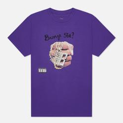 Мужская футболка Bronze 56K DJ Bronze Purple