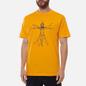 Мужская футболка Bronze 56K Duality Gold фото - 2