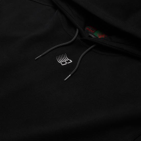 Мужская толстовка Bronze 56K Embroidered B Midweight Hoodie Black