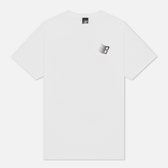 Мужская футболка Bronze 56K Smiley B Logo White