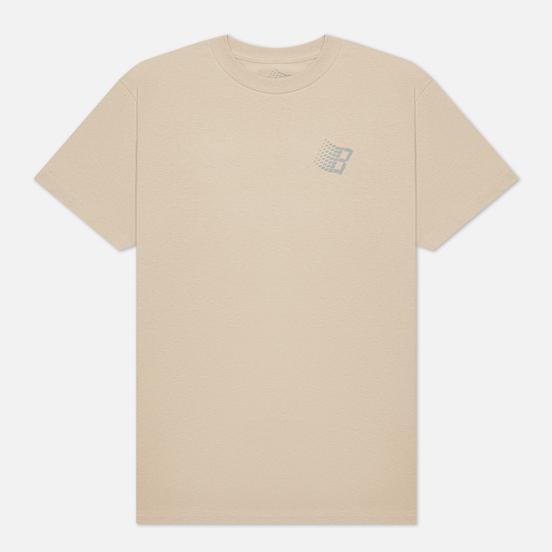Мужская футболка Bronze 56K VX B Logo Sand