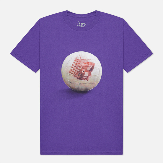 Мужская футболка Bronze 56K Wilson Purple