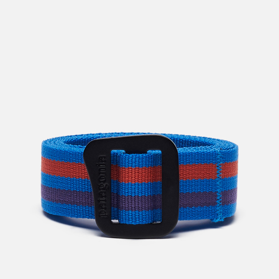 Ремень Patagonia Friction Fitz Roy Stripe/Andes Blue