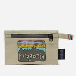 Кошелек Patagonia Small Zippered Fitz Roy/Bleached Stone