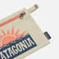 Косметичка Patagonia P-6 Fitz Roy Zippered Stop The Rise Bleached Stone фото - 2