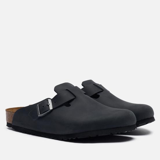 Сандалии Birkenstock Boston Leather Black