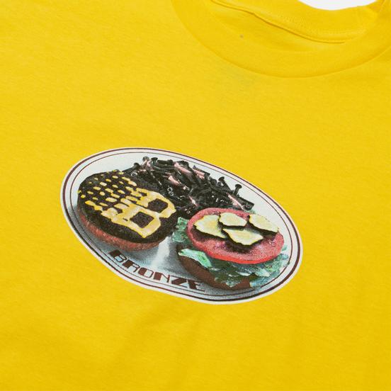 Мужская футболка Bronze 56K Plate Yellow