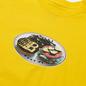 Мужская футболка Bronze 56K Plate Yellow фото - 1