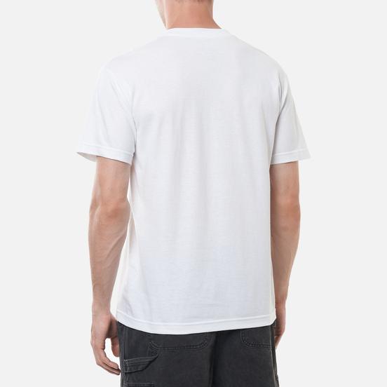 Мужская футболка Bronze 56K Death Metal Lamp White