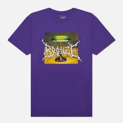 Мужская футболка Bronze 56K Death Metal Lamp Purple