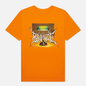 Мужская футболка Bronze 56K Death Metal Lamp Orange фото - 0