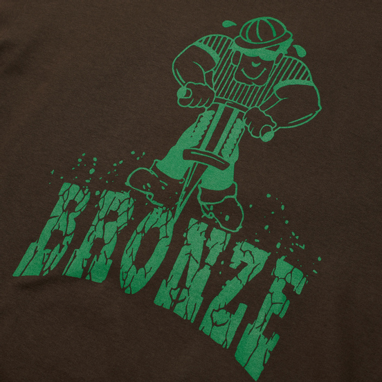Мужская футболка Bronze 56K Jackhammer Chocolate