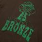 Мужская футболка Bronze 56K Jackhammer Chocolate фото - 1