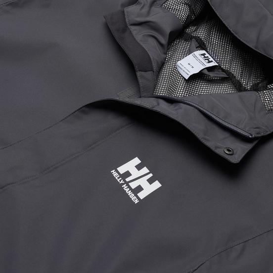 Мужская куртка ветровка Helly Hansen Seven J Charcoal