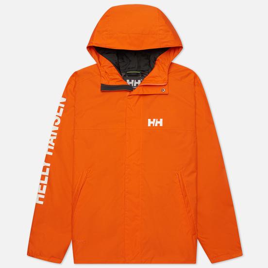 Мужская куртка ветровка Helly Hansen Ervik Bright Orange