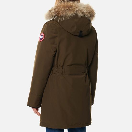 Женская куртка парка Canada Goose Trillium HD Military Green