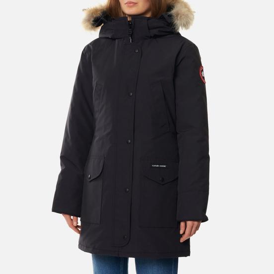 Женская куртка парка Canada Goose Trillium HD Navy