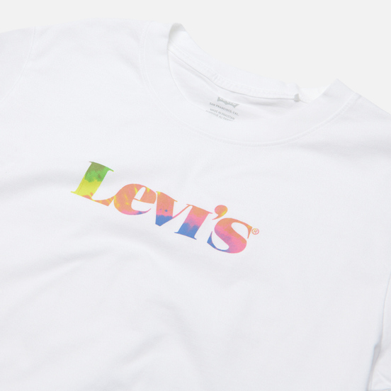 Женская футболка Levi's Graphic Varsity White