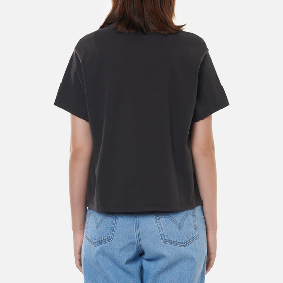 Женская футболка Levi's Graphic Varsity Obsidian