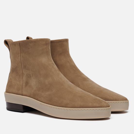 Мужские ботинки Fear of God Chelsea Santa Fe Nubuck Taupe