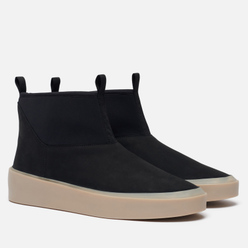 Мужские ботинки Fear of God Polar Wolf Nubuck/Neoprene Black