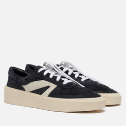 Мужские кроссовки Fear of God Skate Low Suede/Leather Black/Grey