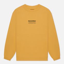Мужская толстовка maharishi Organic Crew Military Type Embroidery Yellow