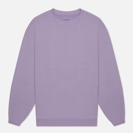 Мужская толстовка maharishi Hemp Organic Crew Neck Lavender