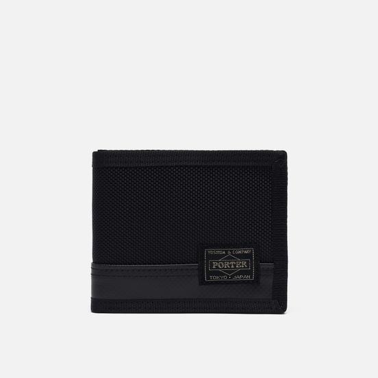 Кошелек Porter-Yoshida & Co Heat Ballistic Nylon Black