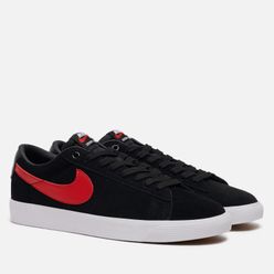 Мужские кроссовки Nike SB Blazer Low GT Black/University Red/Black/White