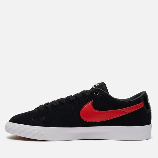 Мужские кроссовки Nike SB Blazer Low GT Black/University Red/Black/White