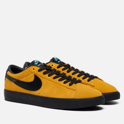 Мужские кроссовки Nike SB Blazer Low GT University Gold/Black/University Gold