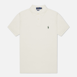 Мужское поло Polo Ralph Lauren The Iconic Basic Mesh Slim Fit Nevis