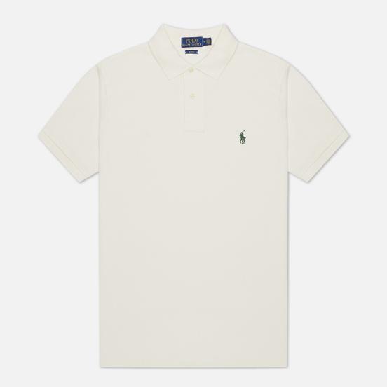 Мужское поло Polo Ralph Lauren The Iconic Basic Mesh Slim Fit Nevis