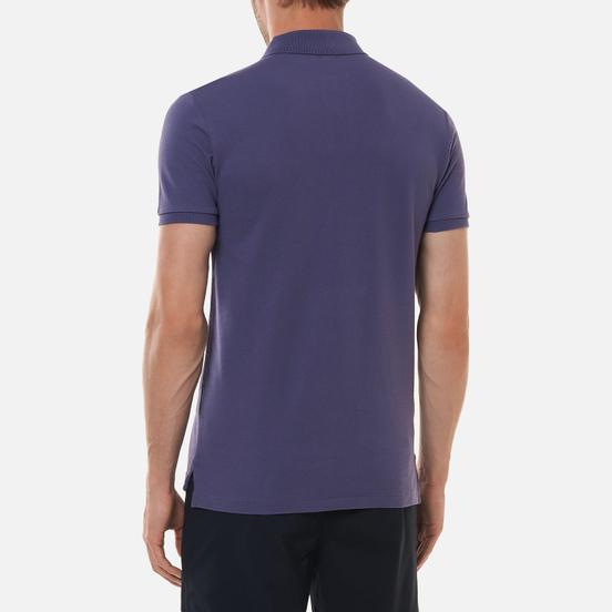 Мужское поло Polo Ralph Lauren The Iconic Basic Mesh Slim Fit Juneberry/Turquoise