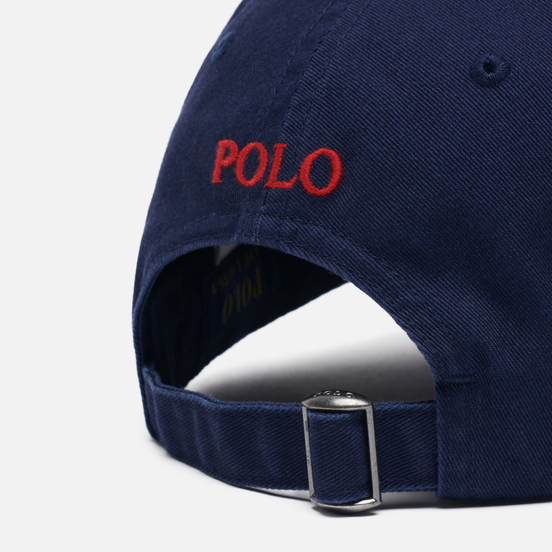 Кепка Polo Ralph Lauren Classic Baseball Newport Navy/Red