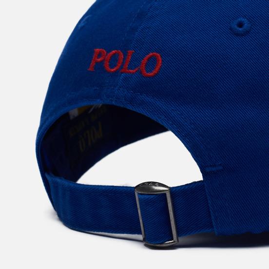 Кепка Polo Ralph Lauren Classic Sport Cotton Chino Heritage Royal