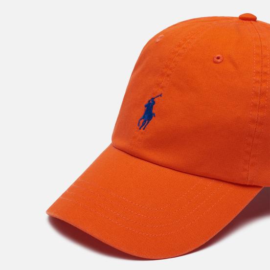 Кепка Polo Ralph Lauren Classic Sport Cotton Chino Sailing Orange