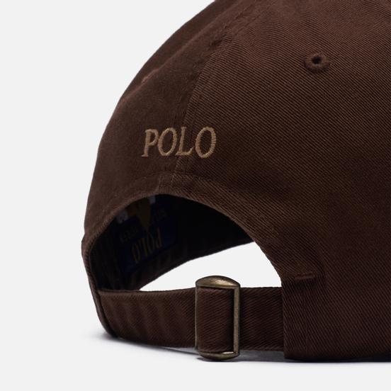 Кепка Polo Ralph Lauren Classic Sport Cotton Chino Cooper Brown