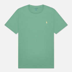 Мужская футболка Polo Ralph Lauren Classic Crew Neck 26/1 Jersey Haven Green/Yellow