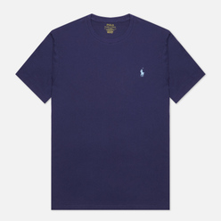 Мужская футболка Polo Ralph Lauren Classic Crew Neck 26/1 Jersey Boathouse Navy