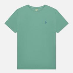 Мужская футболка Polo Ralph Lauren Classic Crew Neck 26/1 Jersey Seafoam/Navy