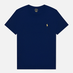 Мужская футболка Polo Ralph Lauren Classic Crew Neck 26/1 Jersey Fall Royal/Yellow