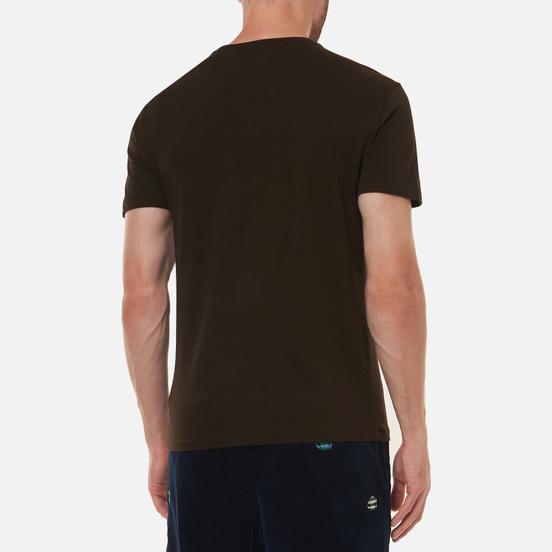 Мужская футболка Polo Ralph Lauren Classic Crew Neck 26/1 Jersey Circuit Brown/Beige